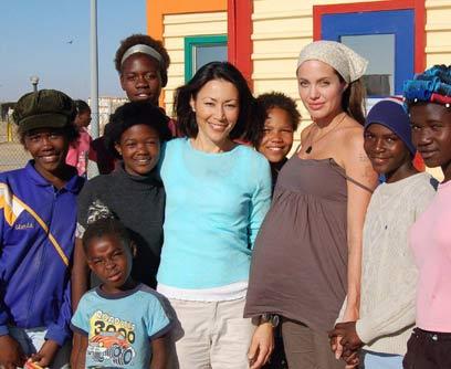 Angelina en Africa