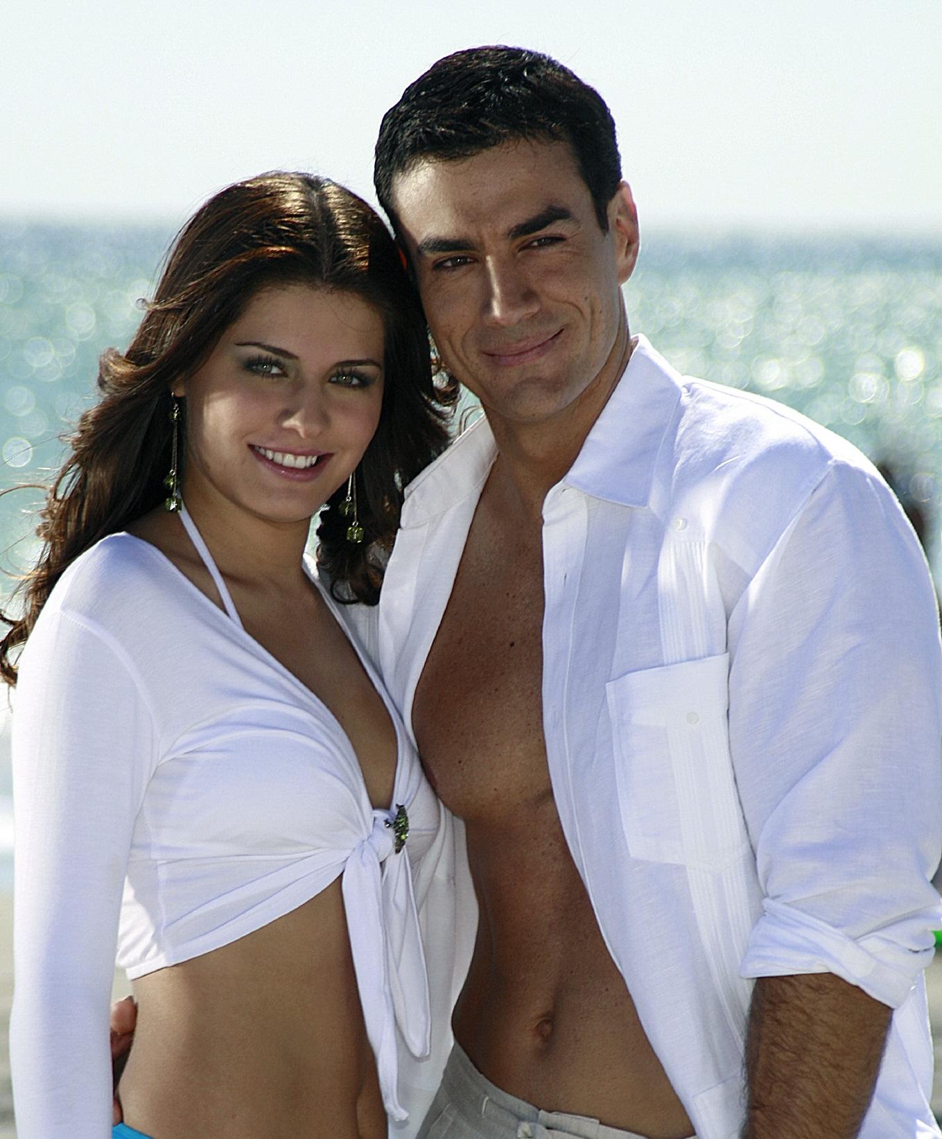 William Levy and Elizabeth Gutierrez