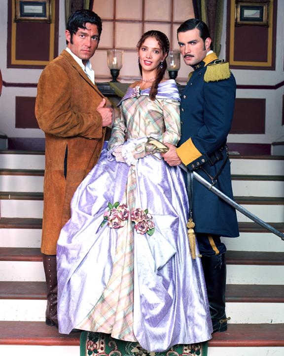 Adela Noriega, Fernando Colunga y Mauricio Islas de Amor Real