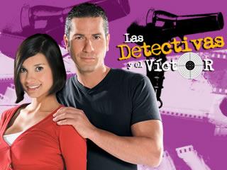 Protagonistas las detectivas y el Victor