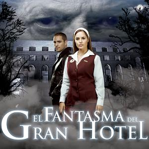 Afiche el fantasma del gran hotel