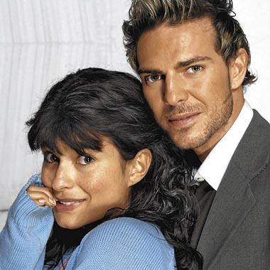 Paola Rey y Juan Alfonso Baptista