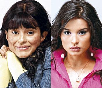 Paola Rey protagonista de la mujer en el espejo