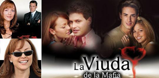 Afiche retocado de la Viuda de la mafia
