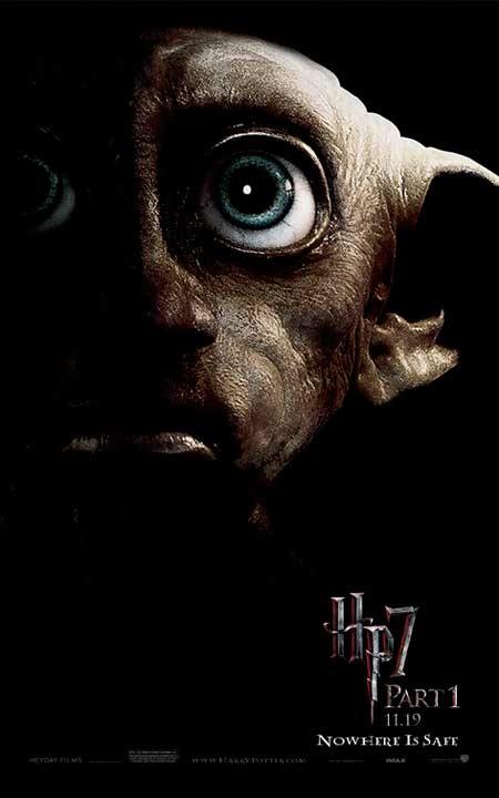 Afiche Harry Potter 7