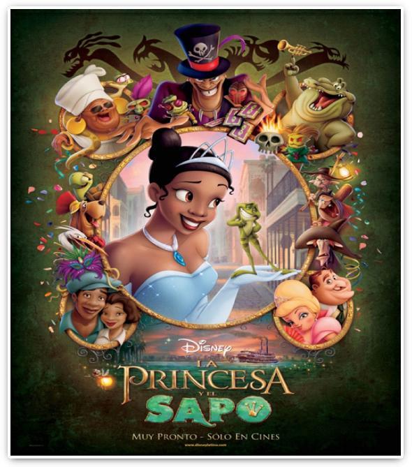 La princesa y el sapo | Mi blog de cine y televisión