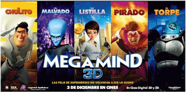 Megamind afiche