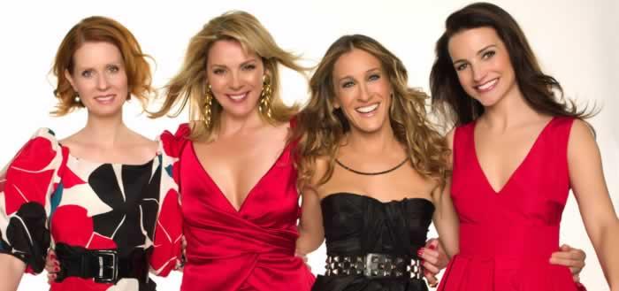 Miranda, Samantha, Carri y Charlotte
