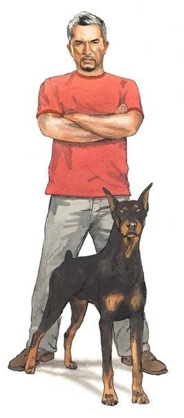 Dibujo Cesar Millan