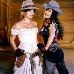 Bandidas Penelope Cruz y Salma Hayek