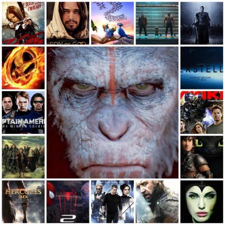 Collage Películas 2014