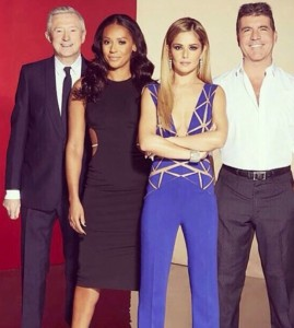 Jurado Factor X UK 2014