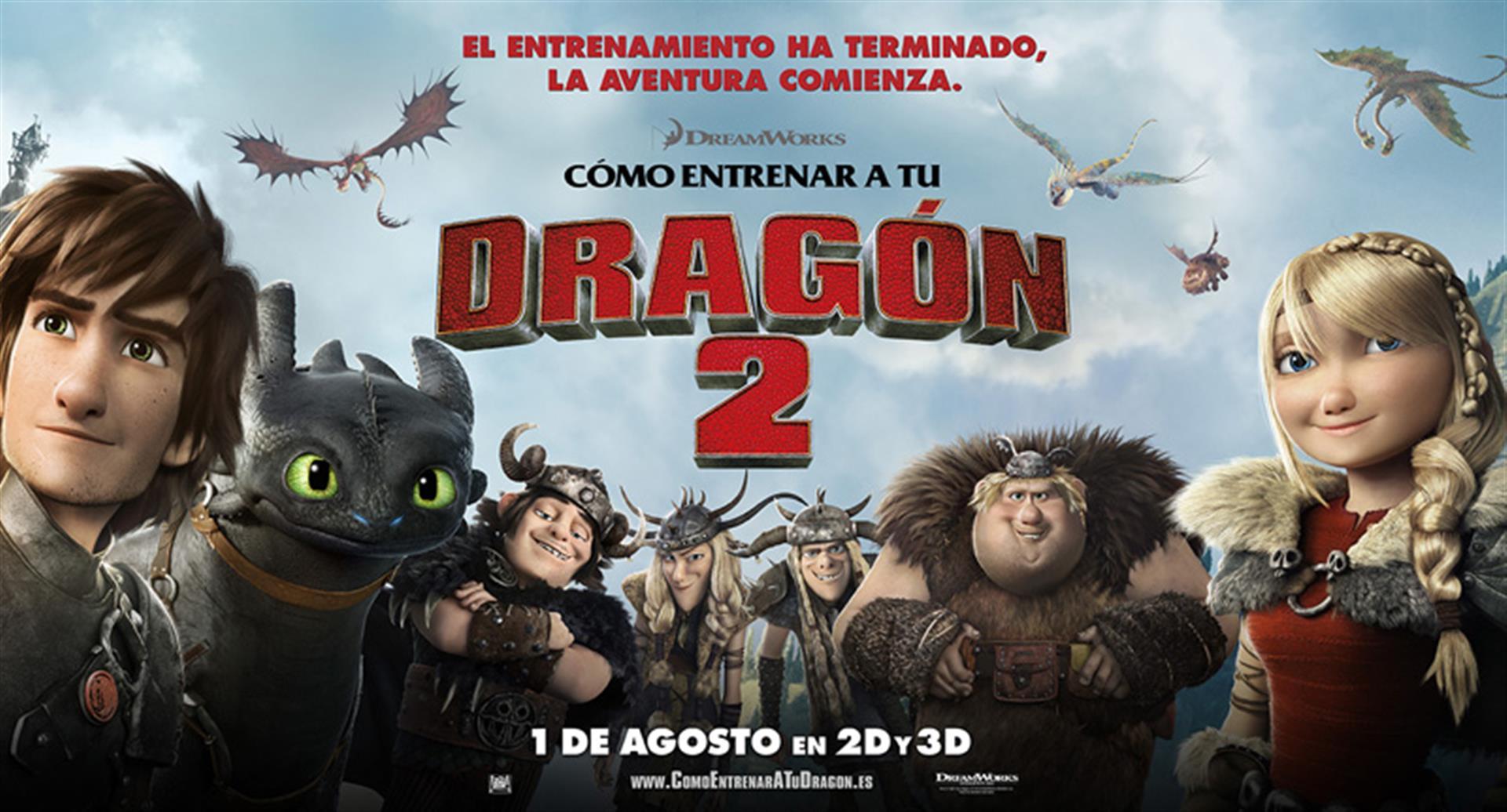 Cómo entrenar a tu dragón 2 (2014). #Animación # ...