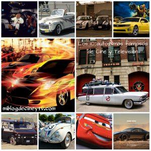 Autos más famosos de Cine y TV